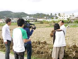 テレビ取材3